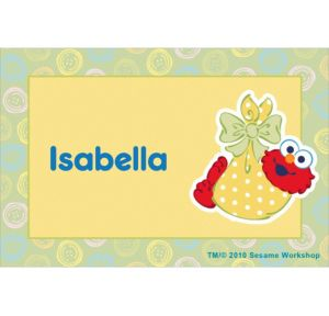 Custom Baby Elmo Baby Shower Thank You Notes
