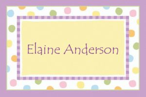 Custom Baby Steps Baby Shower Thank You Notes