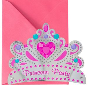 Premium Glitter Paisley Passion Invitations 8ct