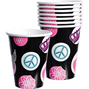 Rocker Princess Cups 8ct