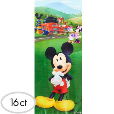 Mickey Mouse Treat Bags 16ct