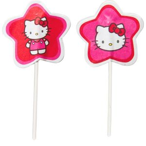 Wilton Hello Kitty Fun Picks 24ct