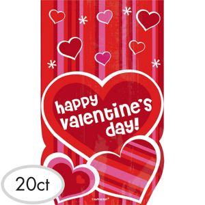 Valentine's Day Treat Bags 20ct