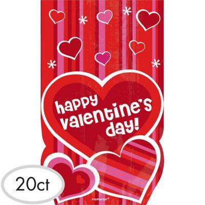 Valentine's Day Treat Bags 20ct