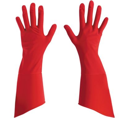 Adult Captain America Gloves Deluxe