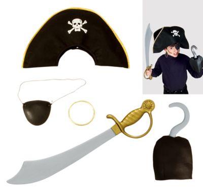 Child Pirate Accessory Kit