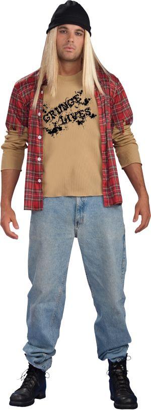 Adult Grunge Rocker Costume