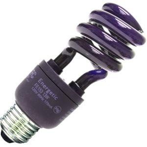 Black CFL Light Bulb