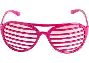 Pink Shutter Glasses