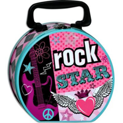 Rocker Girl Tin Box
