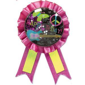 Neon Doodle Award Ribbon