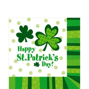 St. Patrick's Day Cheer Lunch Napkins 125ct