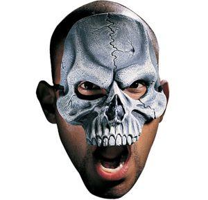 Vinyl Chinless Skull Mask