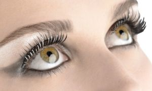 Silver Foil False Eyelashes