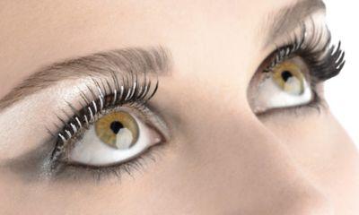 Silver Foil False Eyelashes