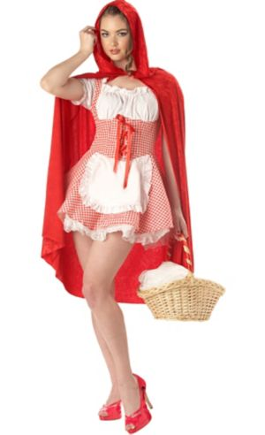 Adult Velvet Red Riding Hood Cape