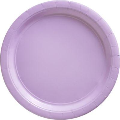 Lavender Paper Dinner Plates 20ct