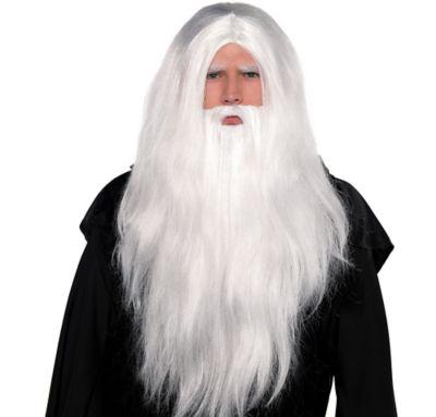 Merlin Beard Wig 34