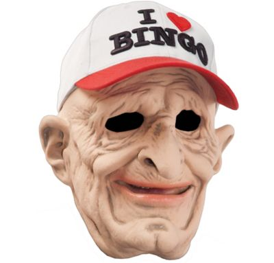 I Love Bingo Mask