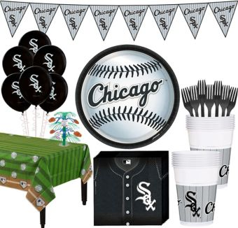 Chicago White Sox Super Party Kit for 16 Guests