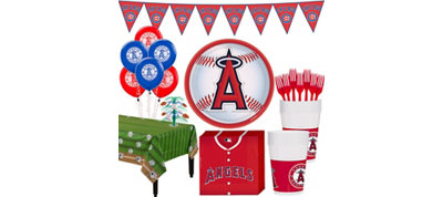 Los Angeles Angels Super Party Kit for 16 Guests