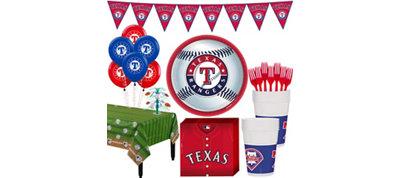 Texas Rangers Super Party Kit