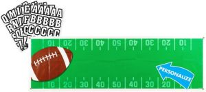 Giant Football Personalized Banner