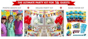 Sesame Street Ultimate Party Kit for 16 Guests