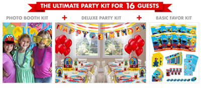 Sesame Street Party Supplies Ultimate Party Kit