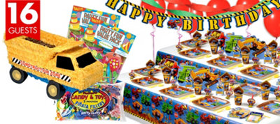 Under Construction Party Supplies Ultimate Party Kit