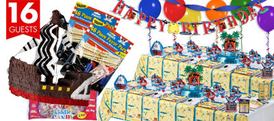 Pirate Party Supplies Ultimate Party Kit