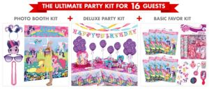 My Little Pony Ultimate Party Kit for 16 Guests