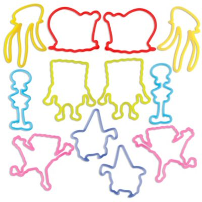 SpongeBob Silly Bandz 12ct