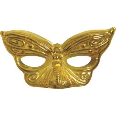Gold Butterfly Masquerade Mask