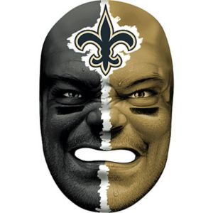 New Orleans Saints Fan Face Mask