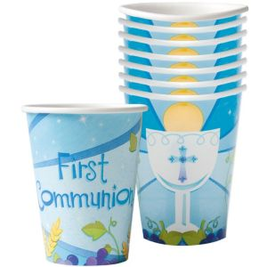 Boy's 1St Communion Cups 18ct