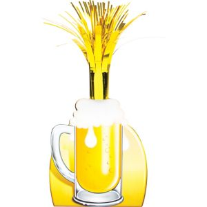 Beer Mug Cascade Centerpiece