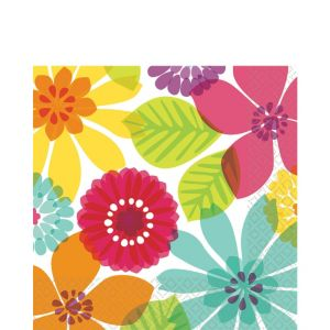 Day in Paradise Lunch Napkins 16ct