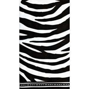Modern Zebra Guest Towels 16ct