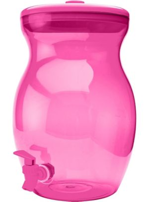 Pink Beverage Dispenser