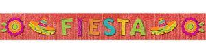 Glitter Fiesta Caliente Fringe Banner