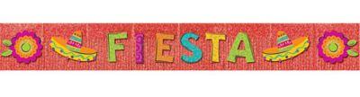 Glitter Fiesta Fringe Banner