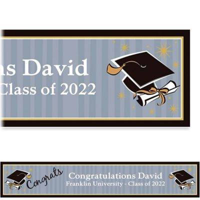Grad Honors Custom Graduation Banner