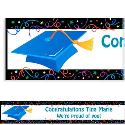 Custom Grad Celebration Banner 6ft