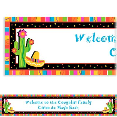 Fiesta Fun Custom Banner