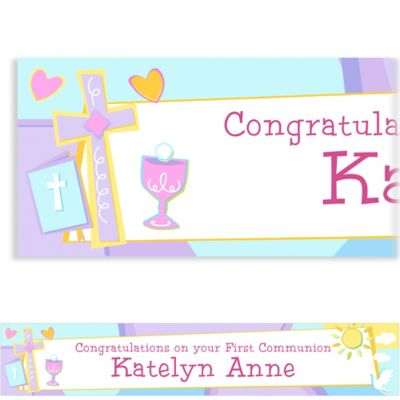 Communion Celebration Custom Banner