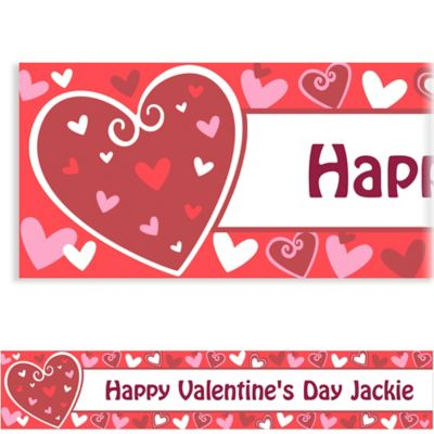 Custom Be Mine Valentine's Day Banner 6ft