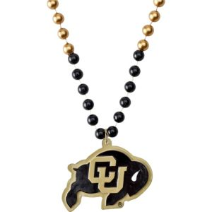 Colorado Buffaloes Pendant Bead Necklace