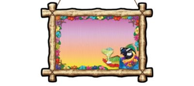 Tiki Bar Drink Board
