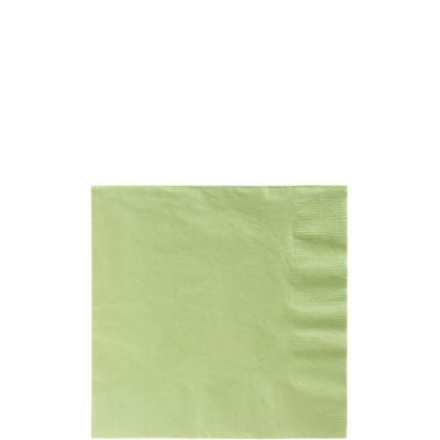Leaf Green Beverage Napkins 125ct